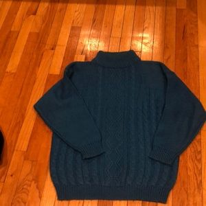 VINTAGE LOVERS OVERSIZED MOCK TURTLENECK